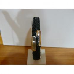 Bracelet Cuir et Acier Cerruti