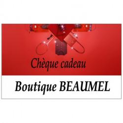 Chèque cadeau Beaumel