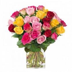 Bouquet Brassée de Roses