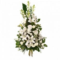 Gerbe de fleurs Hommage