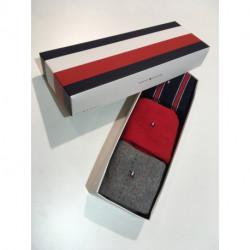 Coffret 3 paires de Chaussettes Tommy Hilfiger