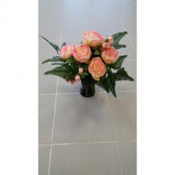Cône de fleurs artificielles