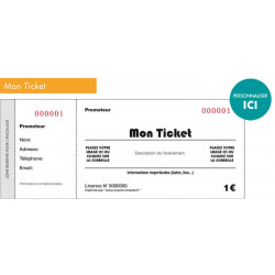 Tickets à souches