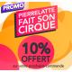 Promo journée Pierrelatte fait son cirque