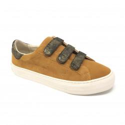 Sneaker arcade straps safran gold NO NAME