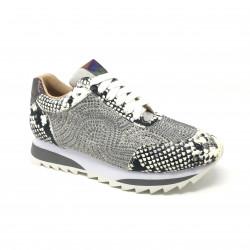 Sneaker snake white Alma en Pena