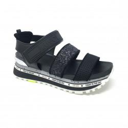Sandale plateforme black Liu Jo