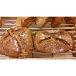 Solognot pain blé seigle et graines de céréales au poids