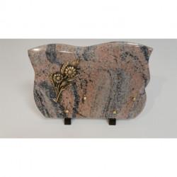 Plaque granit 22X30