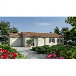 Projet de construction Bourg Saint Andeol maison de 90 m² sur terrain de 500 m²