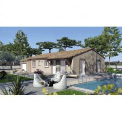 Projet de construction Saint Just d'Ardéche maison de 90 m² sur terrain de 626 m²