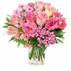 Bouquet rond tendre bisous