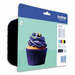 BROTHER multipack noir + couleur