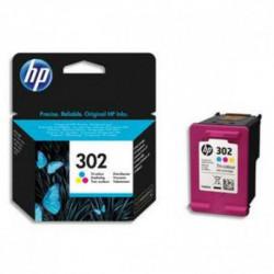 HP pack de 3 cartouches jet d'encre couleurs 302XL