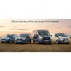 Gamme Utilitaires Ford